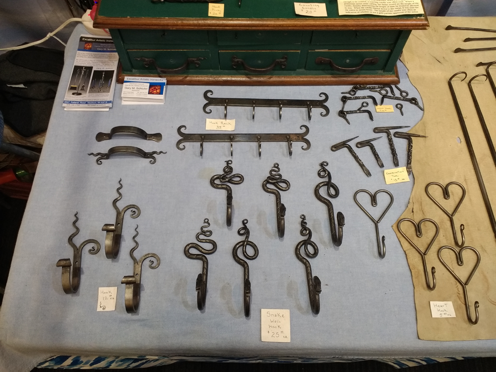 Forged Hooks for the Home
